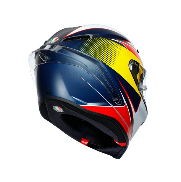 CORSA R MULTI ECE DOT - SUPERSPORT BLUE/RED/YELLOW - Racing