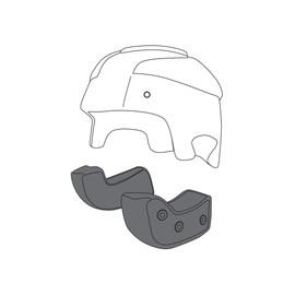 AGV CHEEK PADS RP60 (XS)