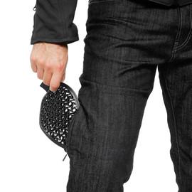 DENIM REGULAR TEX PANTS BLACK- Hosen