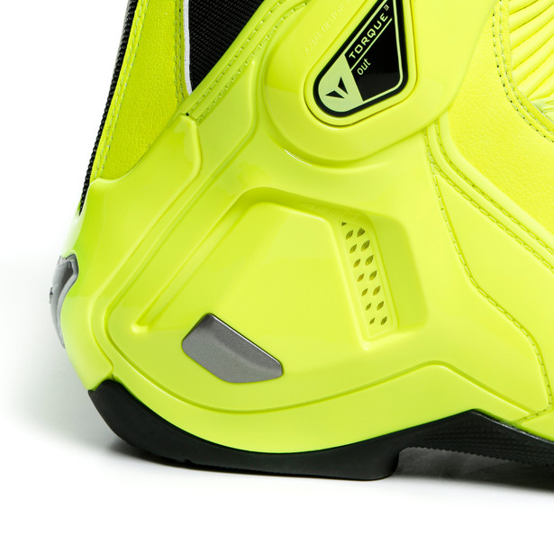 TORQUE 3 OUT BOOTS FLUO-YELLOW- Leder