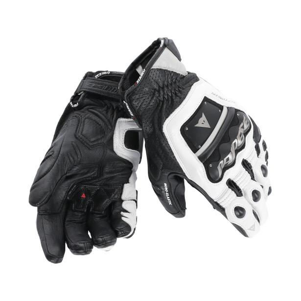 GUANTO 4 STROKE EVO WHITE/WHITE/BLACK- Gloves