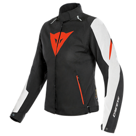 LAGUNA SECA 3 LADY D-DRY® JACKET WHITE/FLUO-RED/BLACK- D-Dry®