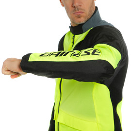 AIR TOURER TEX JACKET FLUO-YELLOW/EBONY/BLACK- Tissus