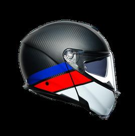 SPORTMODULAR MULTI E2205 - LAYER CARBON/RED/BLUE - Sportmodular