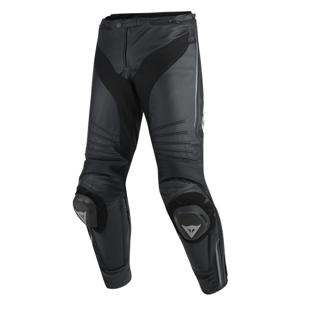 MISANO PERFORATED LEATHER PANTS BLACK/BLACK/ANTHRACITE- Leather
