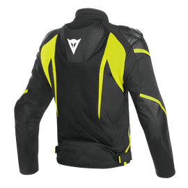 SUPER RIDER D-DRY JACKET BLACK/BLACK/FLUO-YELLOW- Waterproof