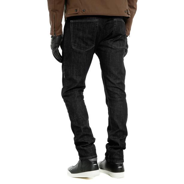 DENIM SLIM TEX PANTS BLACK- undefined