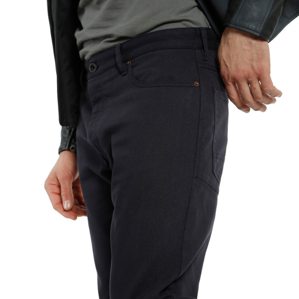 CASUAL REGULAR TEX PANTS BLUE- undefined