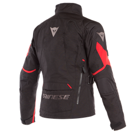 TEMPEST 2 D-DRY LADY JACKET BLACK/BLACK/TOUR-RED- Jacken