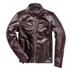 PATINA72 LEATHER JACKET CORDOVAN