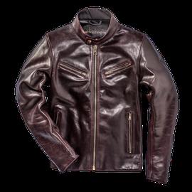 PATINA72 LEATHER JACKET - Motorbike