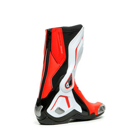 TORQUE 3 OUT LADY BOOTS BLACK/WHITE/FLUO-RED- Moto para ella