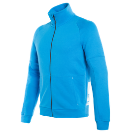 DAINESE FULL-ZIP SWEATSHIRT PERFORMANCE-BLUE