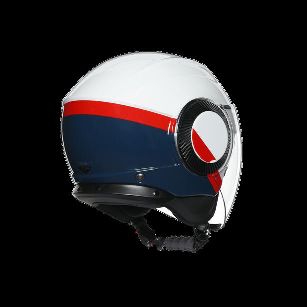 ORBYT E2205 MULTI - BLOCK PEARL WHITE/EBONY/RED FL - Orbyt