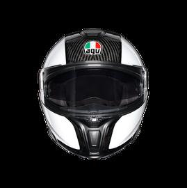 SPORTMODULAR MONO E2205 - CARBON/WHITE - helmets