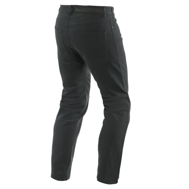 CASUAL SLIM TEX PANTS BLACK- Pants