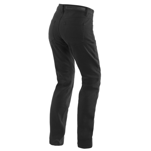 CASUAL REGULAR LADY TEX PANTS BLACK- undefined