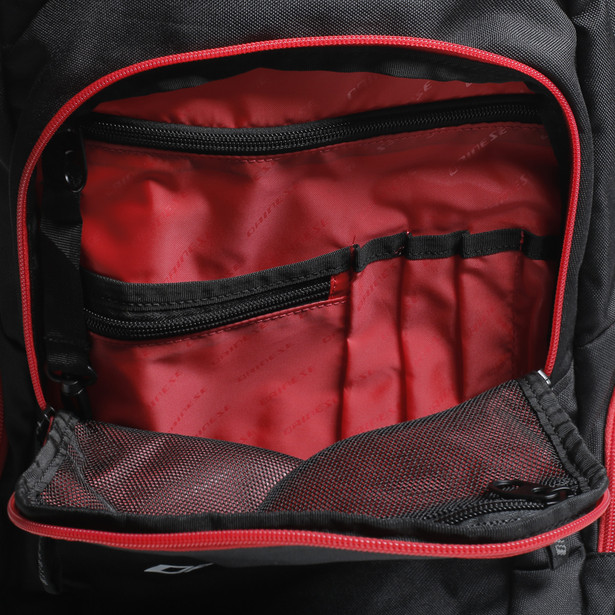 D-QUAD BACKPACK BLACK/RED- Borse