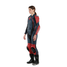 AVRO D2 2 PCS LADY BLACK-IRIS/HAUTE-RED- Two Piece Suits