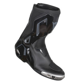 TORQUE D1 OUT BOOTS BLACK/ANTHRACITE- Cuir