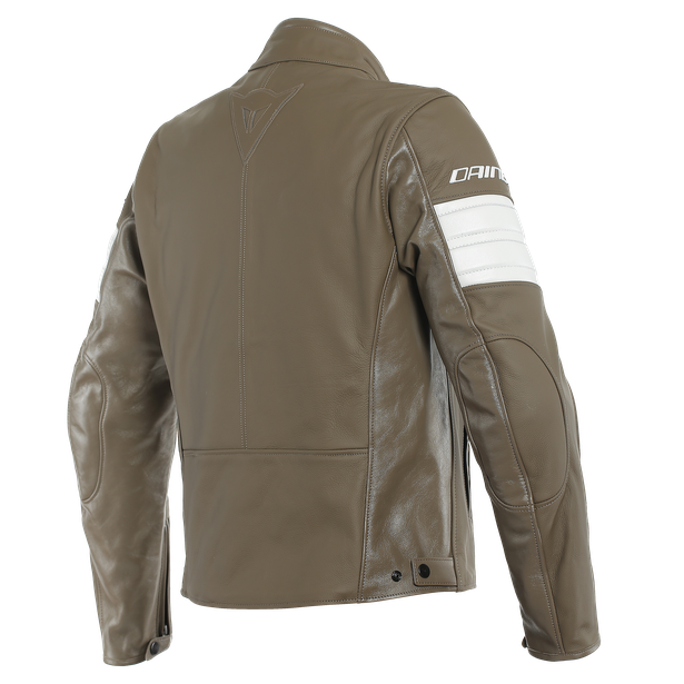 SAN DIEGO LEATHER JACKET LIGHT-BROWN- Jackets