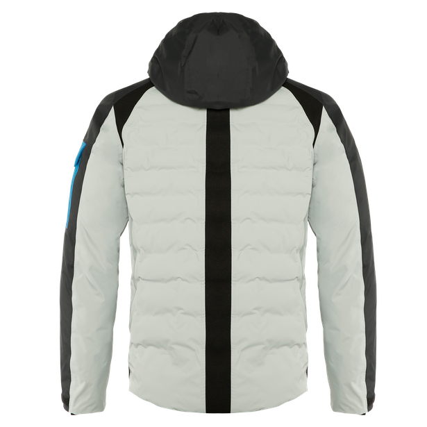 AWA BLACK JACKET PURITAN-GRAY/STRETCH-LIMO/IMPERIAL-BLUE- Downjackets