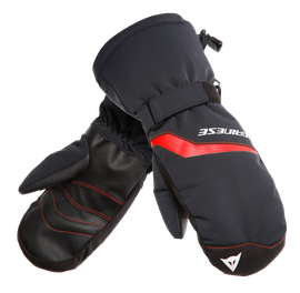 SCARABEO GLOVES MITTEN - KID STRETCH-LIMO/HIGH-RISK-RED