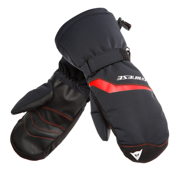 SCARABEO GLOVES - KID STRETCH-LIMO/HIGH-RISK-RED- Scarabeo