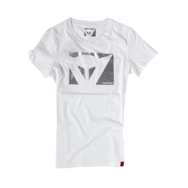 T-SHIRT COLOR NEW LADY WHITE/CARBON- Casual Wear