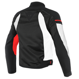 AIR FRAME D1 TEX JACKET BLACK/WHITE/RED- Tessuto