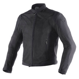 AIR FLUX D1 TEX JACKET BLACK/BLACK- Textile