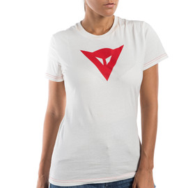 SPEED DEMON LADY T-SHIRT WHITE/RED- T-Shirts