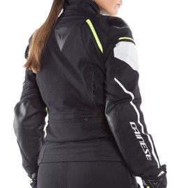 RAIN MASTER LADY D-DRY® JACKET BLACK/GLACIER-GRAY/FLUO-YELLOW- D-Dry®