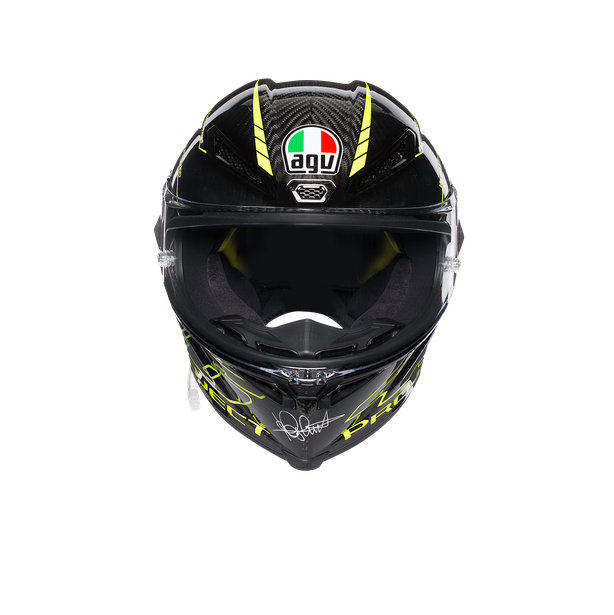 PISTA GP R TOP ECE DOT - PROJECT 46 3.0 CARBON - Pista GP R