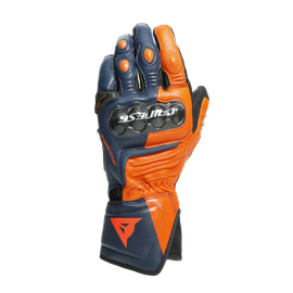 CARBON 3 LONG GLOVES BLACK-IRIS/FLAME-ORANGE/FLUO-RED