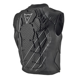 RHYOLITE VEST BLACK- Back
