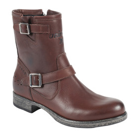 VICKY LADY SHOES DARK BROWN