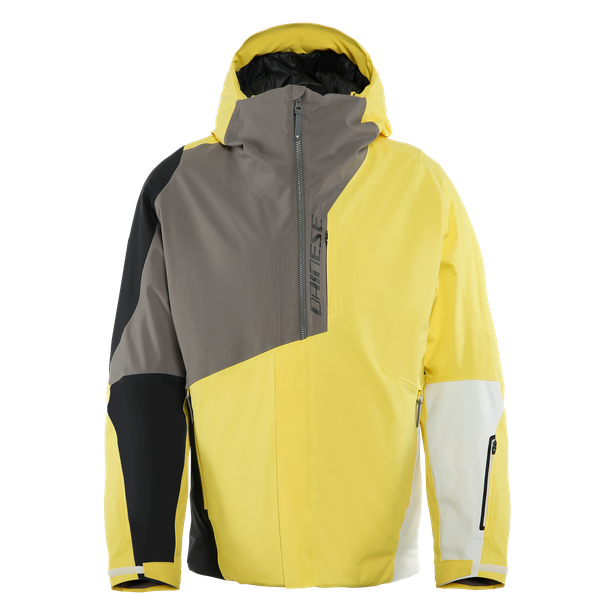 HP NEEDLE VIBRANT-YELLOW/CHARCOAL-GRAY/BLACK-TAPS- Jacken
