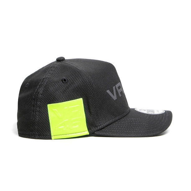 DAINESE VR46 9FORTY CAP BLACK/FLUO-YELLOW- undefined