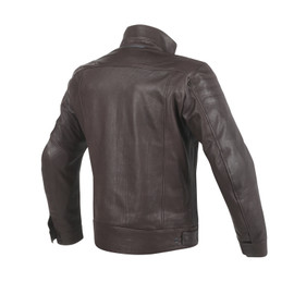 BRYAN LEATHER JACKET BROWN- Leather