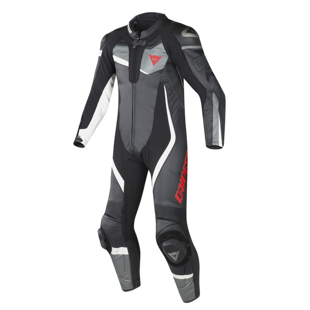 VELOSTER 1 PIECE PERFORATED SUIT BLACK/ANTHRACITE/WHITE- One Piece Suits