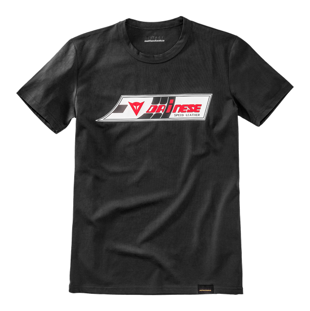 SPEED-LEATHER T-SHIRT BLACK- Dainese72