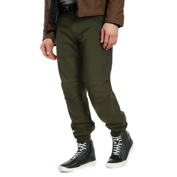 TRACKPANTS TEX PANTS OLIVE- Pants