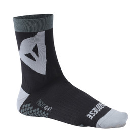RIDING SOCKS MID BLACK/GREY- Accessoires