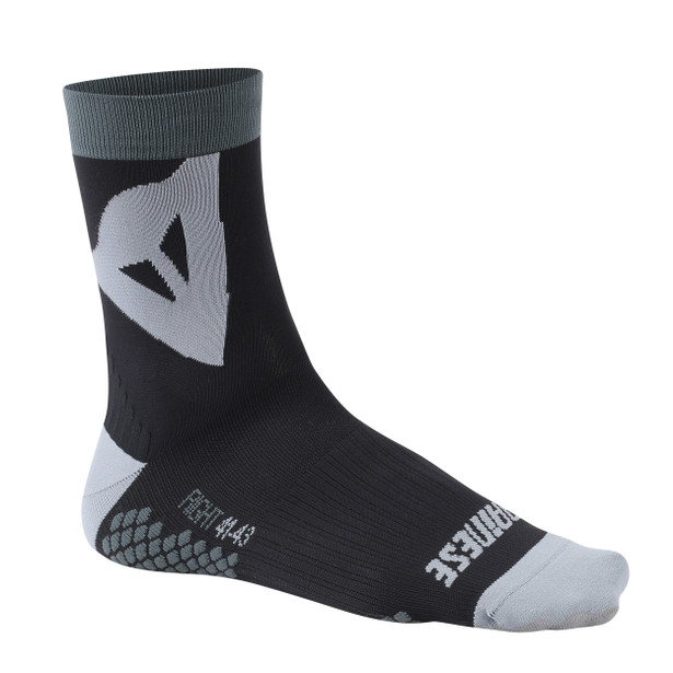 RIDING SOCKS MID BLACK/GREY- Zubehör