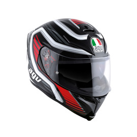 K-5 S MULTI ECE DOT PLK - FIRERACE BLACK/RED