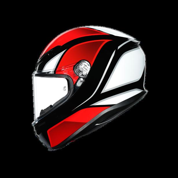 K6 E2205 MULTI - HYPHEN BLACK/RED/WHITE - K6