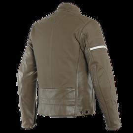 SAINT LOUIS LEATHER JACKET LIGHT-BROWN- Leather