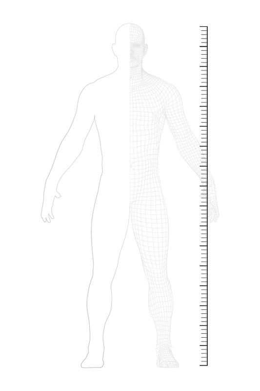 how to measure: height