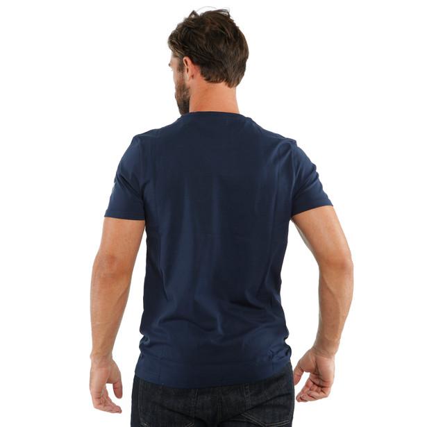 T-SHIRT PADDOCK BLACK-IRIS/BLACK-IRIS- Casual Wear